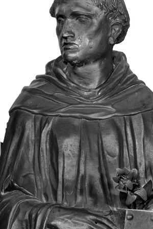 Altar of St. Anthony of Padua, Detail of St. Anthony, 1446-53 Photo by  Donatello