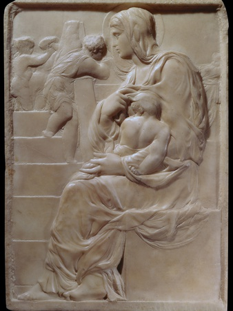 Madonna of the Steps Photo by  Michelangelo Buonarroti