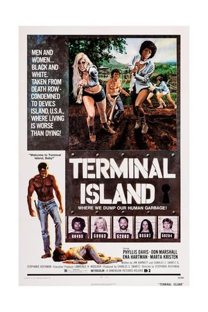 Terminal Island, Top Front from Left: Marta Kristen, Ena Hartman, 1973 Prints