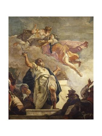 Sacrifice of Iphigenia (Detail) Prints by Francesco Fontebasso