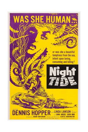 Night Tide, 1961 Art!
