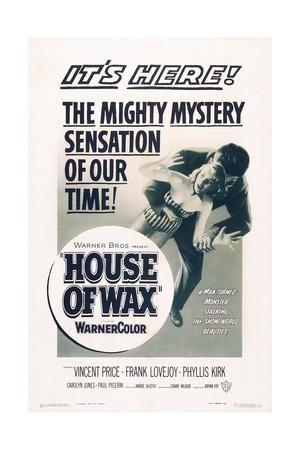 House of Wax, 1953 Art