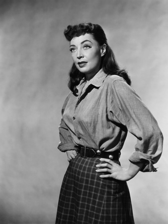 Day of the Badman, Marie Windsor, 1958 Photo