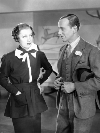 Roberta, from Left: Irene Dunne, Fred Astaire, 1935 Photo