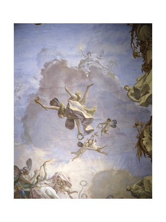 God of Olympus Poster by Jacopo Guarana