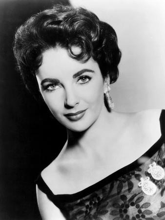 Elizabeth Taylor, Ca. 1954 Photo
