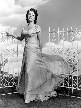 Giant, Elizabeth Taylor, in a Dress by Marjorie Best, 1956 Photo