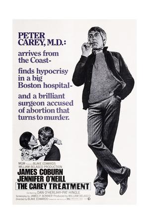The Carey Treatment, Bottom Left: Jennifer O'Neill, James Coburn; Right: James Coburn, 1972 Posters