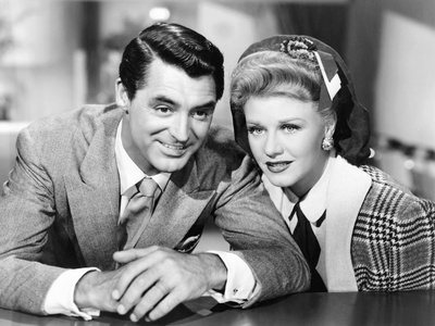 Once Upon a Honeymoon, from Left: Cary Grant, Ginger Rogers, 1942 Photo