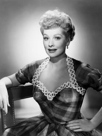 Lucille Ball, Ca. 1950 Photo