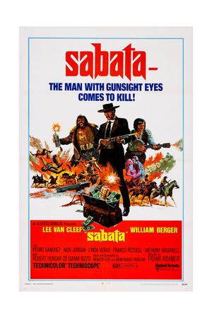 Sabata, (Aka Ehi Amico... C'E Sabata, Hai Chiuso!), 1969 Prints