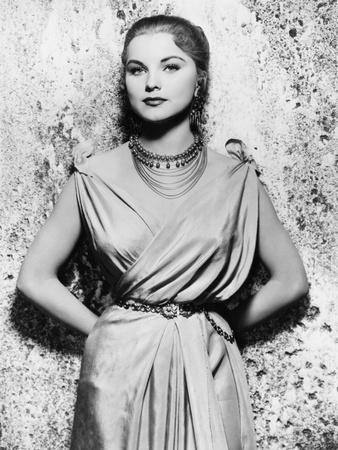 Demetrius and the Gladiators, Debra Paget, 1954 Foto