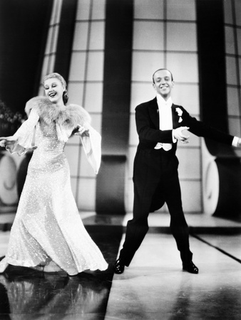 Follow the Fleet, from Left: Ginger Rogers, Fred Astaire, 1936 Photo