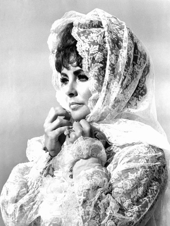 Boom!, Elizabeth Taylor, 1968 Photo