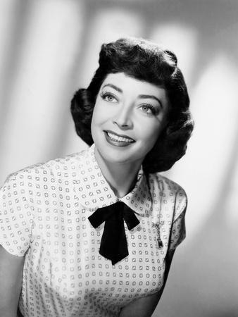 The Girl in Black Stockings, Marie Windsor, 1957 Photo