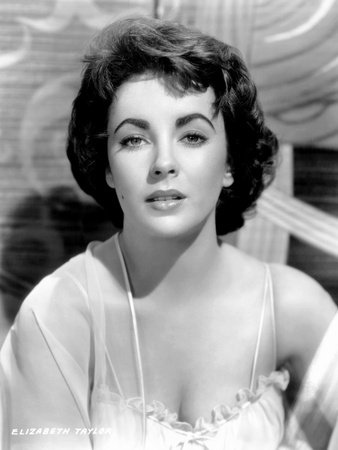 Elephant Walk, Elizabeth Taylor, 1954 Photo