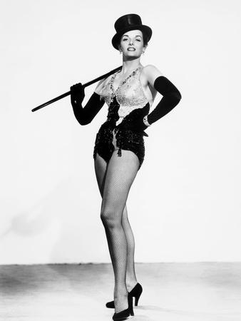 Gentlemen Prefer Blondes, Jane Russell, in a Costume by William Travilla, 1953 Photo
