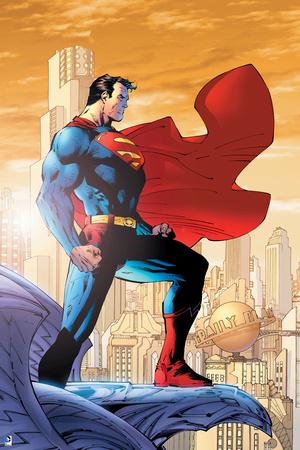 Superman on a Ledge