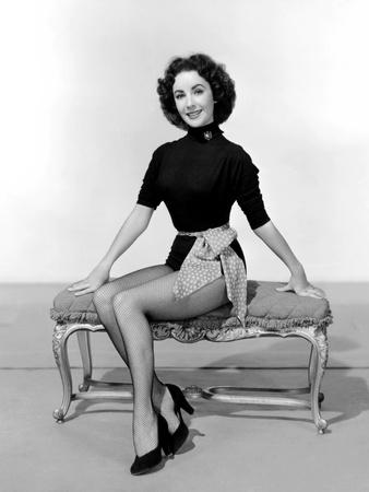 Elizabeth Taylor, 1952 Photo