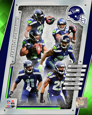 Seattle Seahawks 2014 Team Composite Photo