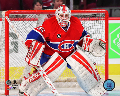 Dustin Tokarski 2014-15 Action Photo