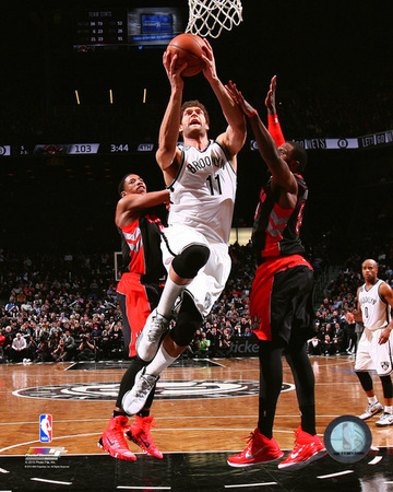 Brook Lopez 2014-15 Action Photo