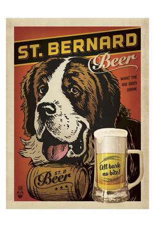St. Bernard Beer Posters by  Anderson Design Group