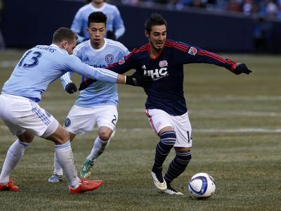 MLS: New England Revolution at New York City Photo by Noah K Murray