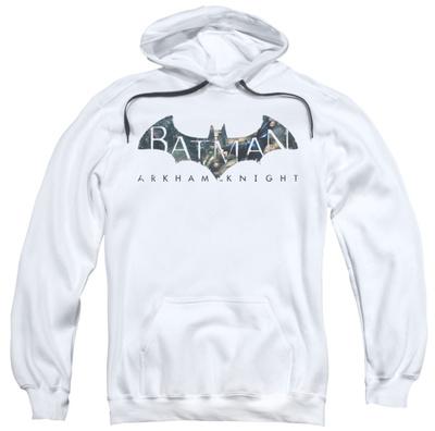 Hoodie: Baman Arkham Knight - Descending Logo Pullover Hoodie