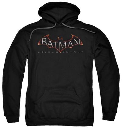 Hoodie: Batman: Arkham Knight - Logo Pullover Hoodie