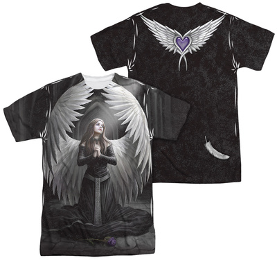 Anne Stokes - Prayer For The Fallen (Front - Back Print) T-shirts