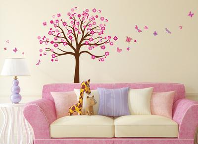Tree Heart Muursticker