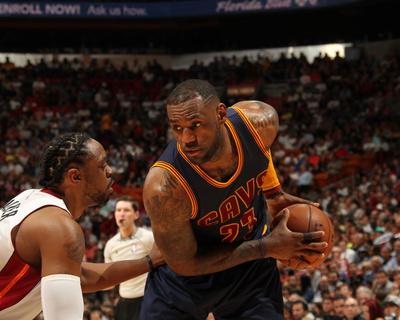Cleveland Cavaliers v Miami Heat Photo by Issac Baldizon