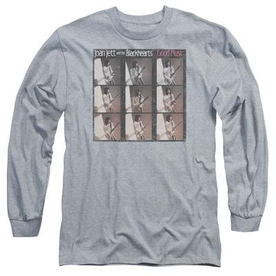 Long Sleeve: Joan Jett - Good Music T-Shirt