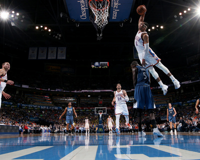 Minnesota Timberwolves v Oklahoma City Thunder Photo by Layne Murdoch