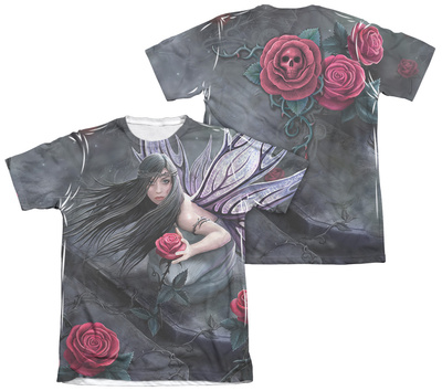 Anne Stokes - Rose Fairy (Front - Back Print) Shirts