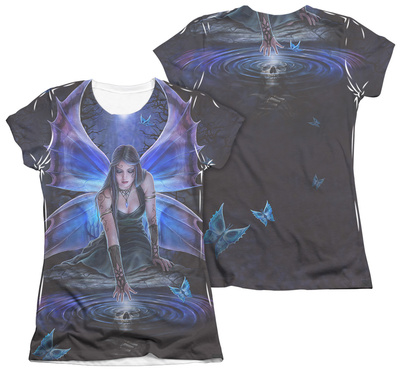 Juniors: Anne Stokes - Immortal Flight (Front - Back Print) T-Shirt