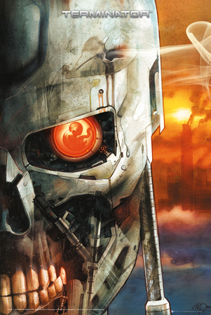 The Terminator - Comic 2 Prints