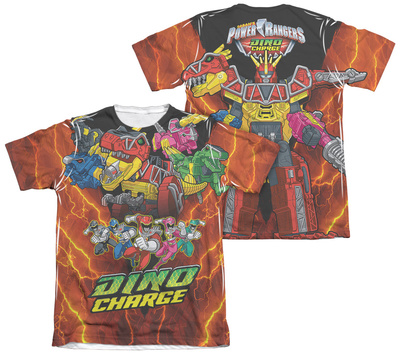 Power Rangers - Zord Power (Front - Back Print) Shirt