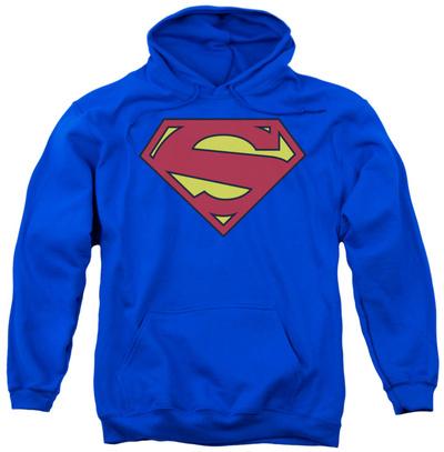 Hoodie: Superman - New 52 Shield Pullover Hoodie