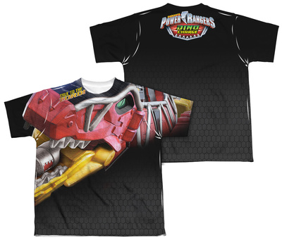 Youth: Power Rangers – Big Zord (Front – Back Print) T-Shirt