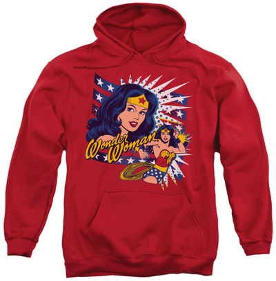 Hoodie: DC Comics - Pop Art Wonder Pullover Hoodie