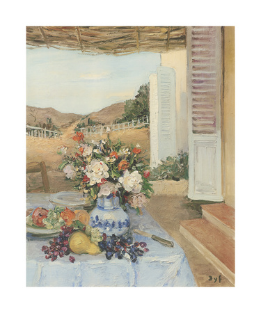 The Teviace in Summer Premium Giclee Print by Marcel Dyf