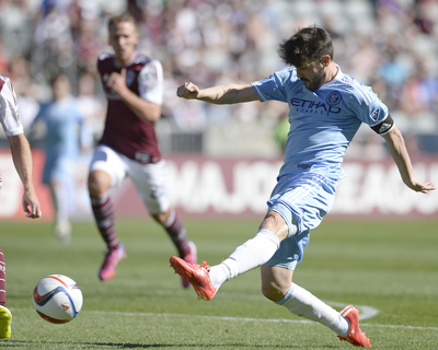 MLS: New York City FC at Colorado Rapids Photo by Ron Chenoy