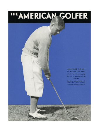 The American Golfer Cover - April 1931 Giclee Print