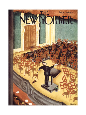 The New Yorker Cover - October 6, 1934 Giclee Print by Charles Alston