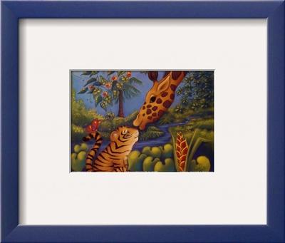 Jungle Love II Print by Marisol Sarrazin