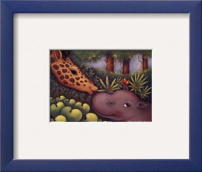 Jungle Love III Prints by Marisol Sarrazin