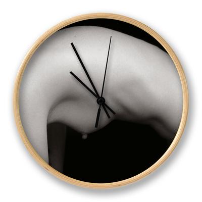 Female Arch Clock by Edoardo Pasero