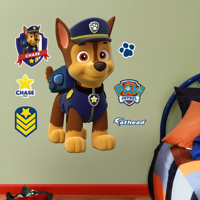PAW Patrol: Chase - Fathead Jr Wall Decal